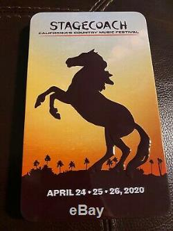 1 Stagecoach Country Music Festival ticket 2020 3 Day GA Tier 2 + Shuttle Pass