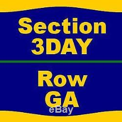 16 Tickets 2019 Tortuga Music Festival 3 Day Pass (4/12 4/14) 4/12/19 at For