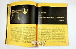 1966 Newport Jazz Festival Program Ticket Stubs Brubeck Simone Monk Fitzgerald+