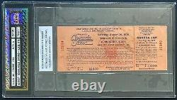 1978 Vtg Canada Jam Rock Concert Festival Ticket Authenticated Bowmanville Ont