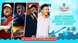 (2) 3-Day Carolina Country Music Festival GA Tickets