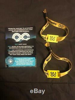 (2) 4 Day Lockn Music Festival GA Wristbands