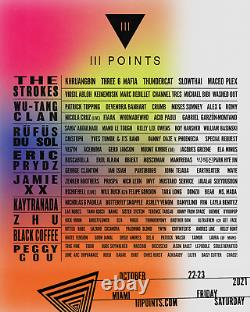 2-DAY GA Tickets III Points Music Festival 2021 Wristbands