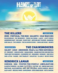 (2) Hangout Music Festival Tickets + Condo