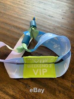 2 Sonoma harvest music festival VIP wristbands Weekend 2 September 21-22