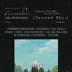 2 TICKETS Porter Robinson's Second Sky Music Festival 2021 Day 2 9/19