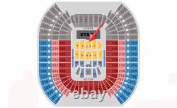 2 Tickets Center Stage Field 3 Row 4 2022 Cma Music Festival Fest Floor Aisle
