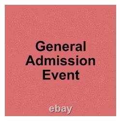 2 Tickets Hinterland Music Festival 3 Day Pass 8/6/21 Saint Charles, IA