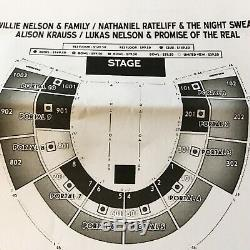 2 Tickets Outlaw Music Festival Willie Nelson, Alison Krauss 9/11/19 NY
