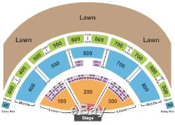 2 Tickets Outlaw Music Festival Willie Nelson, Phil Lesh, Alison 6/16/19