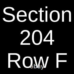 2 Tickets Outlaw Music Festival Willie Nelson, Sturgill Simpson, 9/24/21