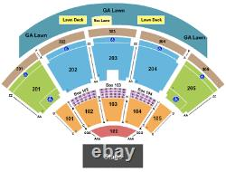 2 Tickets Outlaw Music Festival Willie Nelson, The Avett Brothers, 10/15/21