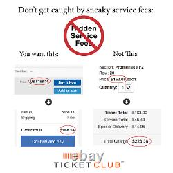 2 Tickets Tortuga Music Festival Friday 11/12/21 Fort Lauderdale, FL