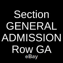2 Tickets Under The Big Sky Music Festival 2 Day Pass 7/17/21 Whitefish, MT