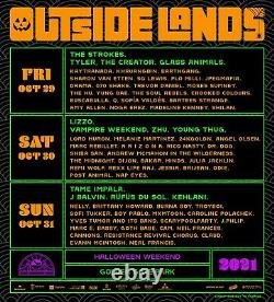 2 tickets for Outside Lands Music Festival 3 Day General Admission