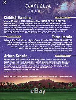 2019 Coachella Music Festival -Weekend 2 Wristband