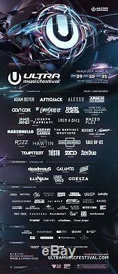 2019 Ultra Music Festival Tickets Miami, FL GA 3 day pass March 29, 30, & 31