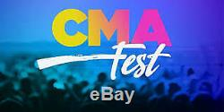 2020 Cma Music Festival Fest 2 Tickets Floor 2 Row 9 Gold Circle 4 Day Pass