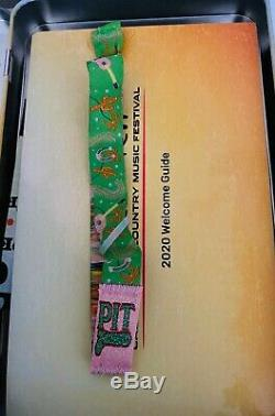 2020 Stagecoach Country Music Festival Ticket, Corral Standing Pit 3 Day Pit