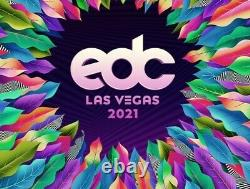 2021/2022 EDC Las Vegas Ticket, 3 day music festival