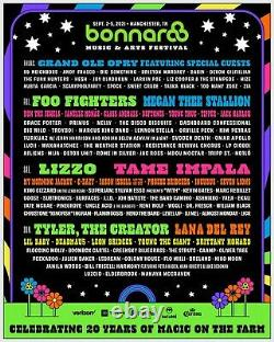 2021 Bonnaroo Music Festival 4 Day Pass 9/2-9/5 2021
