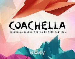 2021 COACHELLA MUSIC FESTIVAL TICKETS 3 DAY GA PASS 1st Weekend 4/9 4/11