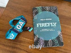 2021 Firefly Music Festival General Admission Weekend Pass x1 Dover Delaware