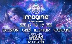 2021 Imagine Music Festival 3-day Pass Wristband / Camping Pass Ticket