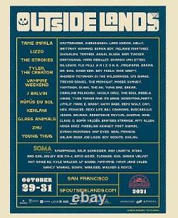 2021 Outside Lands Music Festival 3-Day Wristband Oct. 29-31