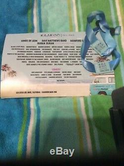 2x 3 Day KAABOO Del Mar 2019 Music Festival Wristbands