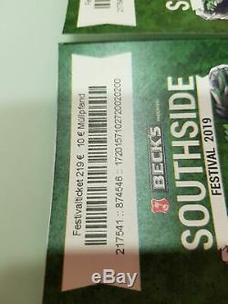 2x 3-tages Ticket's Southside Festival