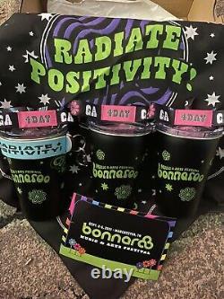 3 Bonnaroo 2021 4-Day GA Pass Wristbands All Accessories Music Festival Tickets
