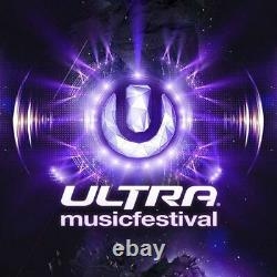 3-DAY GA Tickets Ultra Music Festival 2022 General Admission Wristbands