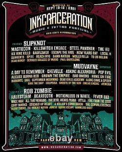 3-DAY Inkcarceration Music & Tattoo Festival -2 GA TICKETS