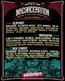 3-DAY VIP Inkcarceration Music & Tattoo Festival Tickets Wristbands Passes