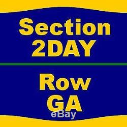 3 Tickets Music Midtown Festival 2 Day Pass (9/15 9/16) 9/15/18 at Piedmont