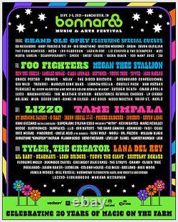 4-DAY GA+ Tickets Bonnaroo Music & Arts Festival 2021 Wristbands