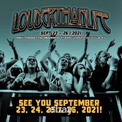 4-DAY TOP SHELF VIP Tickets Louder Than Life Music Festival 2021 Wristbands