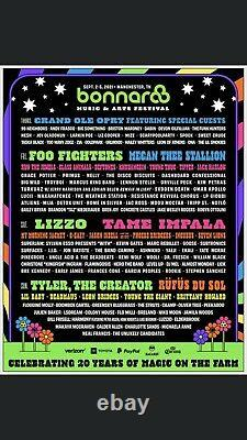 4-Day Car Parking Pass-Bonnaroo Music And Arts Festival