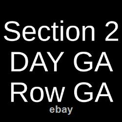 4 Tickets Afterlife Music Festival 3 Day Pass 4/30/21 Cincinnati, OH