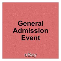 4 Tickets Beale Street Music Festival 3 Day Pass 10/16/20 Memphis, TN