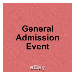 4 Tickets Beale Street Music Festival 3 Day Pass 4/30/21 Memphis, TN