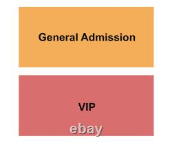4 Tickets Governor's Ball Music Festival (Time TBD) Saturday 9/25/21