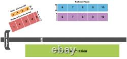 4 Tickets Heartland Stampede Music Festival 3 Day Pass 6/24/21 Topeka, KS