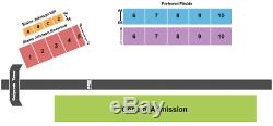 4 Tickets Heartland Stampede Music Festival Thursday Admission Time 6/24/21