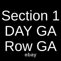 4 Tickets Oregon Jamboree Music Festival Sunday 8/1/21 Sweet Home, OR
