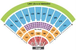 4 Tickets Outlaw Music Festival Willie Nelson, The Avett Brothers, 10/24/21
