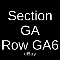 4 Tickets The Atlantic City Beer and Music Festival 6pm-10pm Session 4/4/20