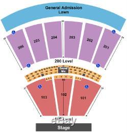 4 Tickets The Peach Music Festival Saturday 7/3/21 Scranton, PA