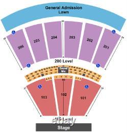 4 Tickets The Peach Music Festival Sunday 7/4/21 Scranton, PA